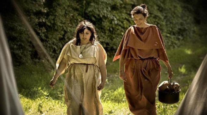 Sono tornati i Celti: ricostruito un accampamento