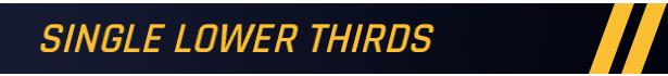体育赛事栏目包装AE模板 片头字幕条比分行程标题版转场展示板等