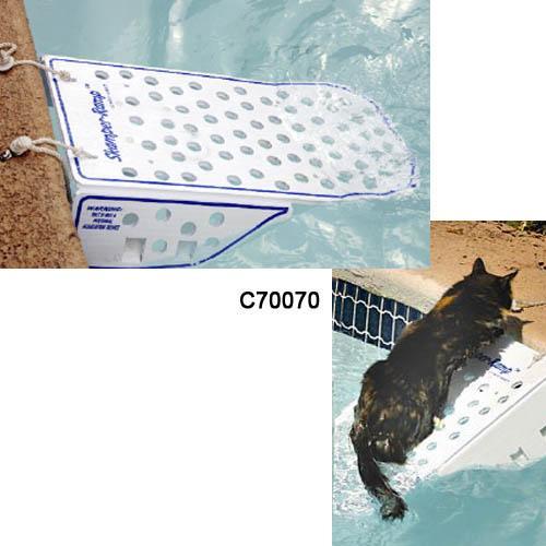 Rampa salvavidas de piscinas para perros for Salvavidas para piscinas