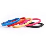 Collar piel redondo - Colores - LZ0090- LZ0138
