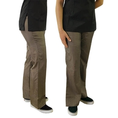 Pantalón Bootcut Gris tostado- B50880- B50885