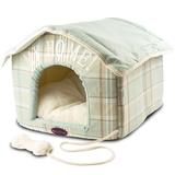 Casita cama Plaid para perros - HT0344
