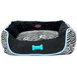 Cama Cebra azul y negra - HT0379 - HT0381