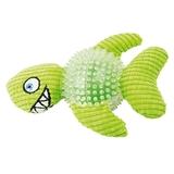 Juguete peluche con pinchos-Tiburón verde