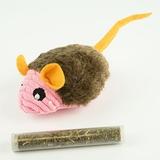 Juguete Ratón con catnip - HT0402