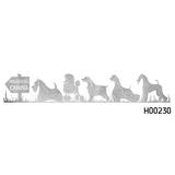 Adhesivo Fila sobre Hierba - H00230