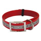 Collar de poliuretano reflectante. Rojo - I8220 - I8229