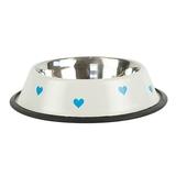 Comedero acero inox Blue Hearts - EE1000-EE1002