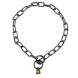 Collar Cadena Acero Inox Negro Sprenger - E00680-E00686