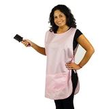 Delantal en teflón impermeable rosa claro - GB0104