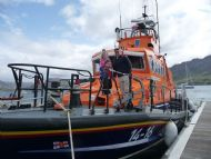 RNLI Portree alongside