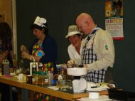 laurencekirk primary's sheila wood and dave are supervised by joan