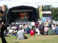 The JAMBO stage @ the Jamboree.