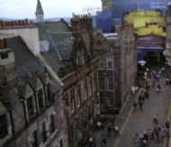 Top of Royal Mile, View From Top Of Camera Obscura