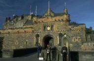 Edinburgh Castle Guards On The Esplanade