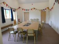 Small Hall with Bunting