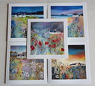 Set of 5 Cottage Cards