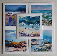 Set of 5 Sea Cards