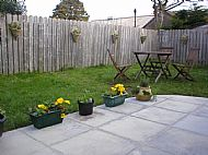 Garden from Patio Door