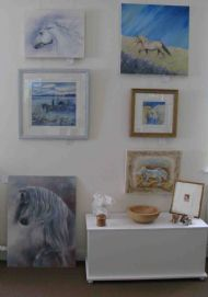 Collection of Artwork for 'Horse Drawn' Exhibition