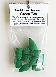 Green Tea Backflow Incense