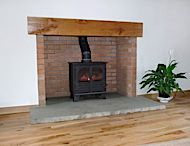 Solid beam for stoves