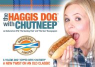 HaggisDog - marketing and business support 2011 - 2013