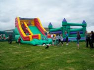 Bouncy Castle & Slide