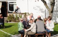 Folk Enjoying the Sun at the Achness Hotel