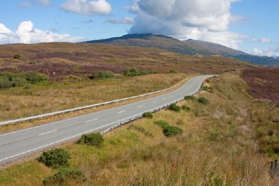 'the open road', the a851 runs the length of the peninsula of sleat