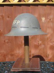 Great Britain, SFP (Street Fire Party), Civilian Fire Guard 1941 dated, steel.