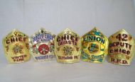 Various gold leaf Chiefs fronts