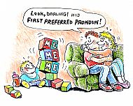 First Pronoun