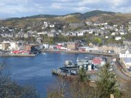 A view of Oban from Pulpit Hill