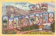 Greetings from San Bernardino