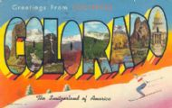 Greetings from colourful Colorado
