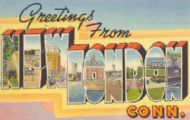 Greetings from New London