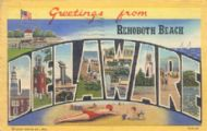Greetinfgs from Rehoboth Beach DE