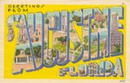 Greetings from Saint Augustine