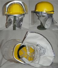 1996 Bristol Uniforms Marine Fire Helmet