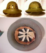 WWII Zuckerman helmet