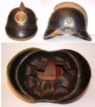 1900 Leather Helmet