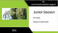 Season Ticket Junior (under 16)