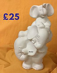 Large Balancing-Elephants Moneybox