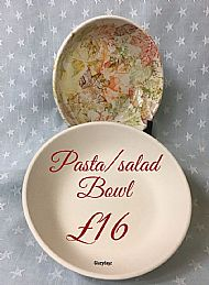 Individual Pasta or Salad Bowl