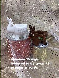 Rudolph Tealight Holder, sale price £11
