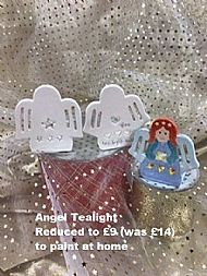 Angel Tealight, sale price £9