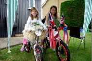 And the best decorated bicyles are .....