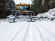 the glenmore cross country piste machine