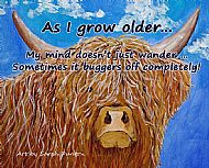 As I Grow Older Coaster